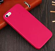 Недорогие -гладкая кожа обложка чехол для iPhone 5 / 5s