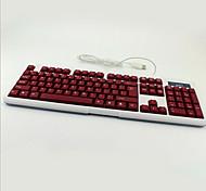 Недорогие -красочные подсветки игра света водонепроницаемый рабочего стола немой ноутбук USB проводной пульт