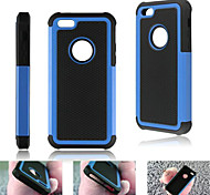 cheap -Case For iPhone 5C / Apple Back Cover Hard Silicone for iPhone 5c