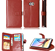 cheap -Wallet  Holders+Cash Slot+Photo Frame Magnetic Leather Phone Case for Samsung Galaxy S4/S5/S6/S6Edge/S6 Edge Plus