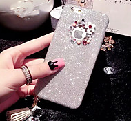 cheap -LADY®Elegant/Luxurious/Personality Phone Case for iphone 6 plus/6s plus(5.5 inch), Decorated with Camellia Diamond
