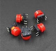 Electrical Power Control 4-Pin Push Button Swit(5PCS)
