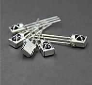Недорогие -универсальный инфракрасный приемник с металлической оболочкой - серебро (5 шт)