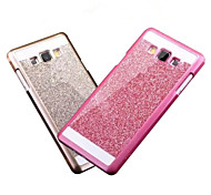 Bling Case Cover Glitter powder Cover Fashional Phone Case Cover With Logo Ultra-thin Case for Samsung Galaxy A3/A5/A7