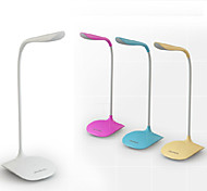 cheap -Modern/Contemporary LED Desk Lamp For PVC White Yellow Pink Light Blue