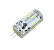 HKV® G4 3W 200-300 lm 57-3014 SMD Warm White/Cool White Light Silicone LED Bi-pin Bulb AC/DC 12 V