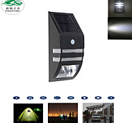 Недорогие -солнечная панель питания человеческое тело датчик движения стены лампы сад на открытом воздухе бра ночные огни