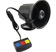 abordables -scolour baru yang universal de 3 tono de alarma mobil keras Privacidad y seguridad sirene Tanduk 12 v panas dc