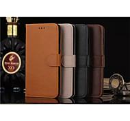 флип кейс поддержка Crazy Horse бумажник просто пу Mobile Shell телефон iPhone 6 / 6с плюс 5,5 различных цветов