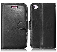 cheap -PU Leather + TPU Back Cover Wallet Case Flip Cover Photo Frame Case for iPhone 4/4S