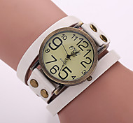 cheap -Women's Watches Vintage Digital Display Leather Quartz Strap Watch Bracelets Watches Cool Watches Unique Watches Fashion Watch