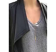 Женский Ожерелья с подвесками Y-ожерелья Слоистые ожерелья Сплав Мода Бижутерия Назначение Особые случаи День рождения