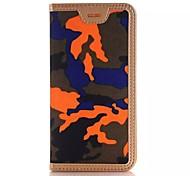 пу маскируют бумажник стентов случай мобильного телефона для iPhone 6с плюс / iphone 6 плюс ассорти цвет