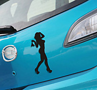 смешно красота леди автомобиля наклейку окна автомобиля наклейки на стены автомобиль стиль