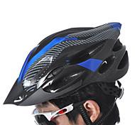 Недорогие -Универсальные Велоспорт шлем 21 Вентиляционные клапаны Велоспорт Горные велосипеды Велосипедный спорт Восхождение Стандартный размер