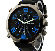 cheap -V6® Men's Watch Japanese Quartz Military Silicone Strap Cool Watch Unique Watch Fashion Watch