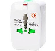 cheap -Whirldy All in One International Adaptor Universal World Wide Travel Charger Adapter Plug, White