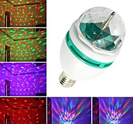 3W E26/E27 LED Globe Bulbs B 3 High Power LED 240-280 lm RGB RGB K Decorative AC 220-240 AC 110-130 V