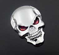 мотоциклы авто логотип 3d металла эмблема значок пропуск скелет кости черепа наклейки