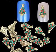 - Finger - Andere Dekorationen - Metall / Andere - 10 Stück - 7X5X0.5 cm