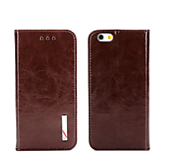 Top Grade Business Genuine Flip Leather for iPhone 5/5S iPhone Cases
