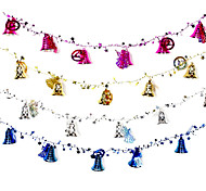 2 м рождественские украшения подарки кольцо тростника колокола висят играть роль ofing елочные украшения Рождественский подарок