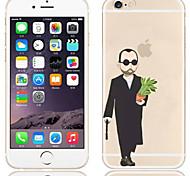 случай обложки задней части обломока ПК для случая iphone 6s / 6 iphone