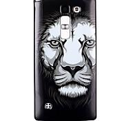 Назначение Кейс для LG Чехлы панели С узором Задняя крышка Кейс для Мультипликация Мягкий Термопластик для LG LG Leon / LG C40 H340N LG