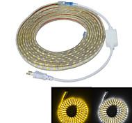Недорогие -Источники питания 300 светодиоды Тёплый белый Белый Водонепроницаемый Подсветка для авто 220.0