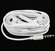 cheap -In Ear Wired Headphones Plastic Mobile Phone Earphone with Volume Control with Microphone Noise-isolating Headset