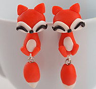 cheap -Women's Stud Earrings - Animal Fashion Orange / Red For Daily / Casual