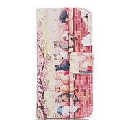 cheap -Cat PU Leather Wallet with Card Holder and Stand for Iphone 5 5S 5SE 5C 6 6S 6 Plus 6S Plus