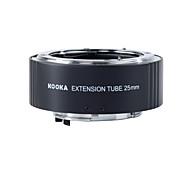 kooka kk n25-tubo de extensión af latón con exposición automática TTL para nikon entrada 25mm cámaras SLR