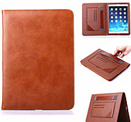 cheap -Multifunctional Stand Super Slim Leather Case for Apple iPad Air 2 (Assorted Colors)