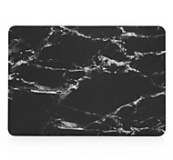 """cheap -Case for Macbook Air 11.6""""/13.3"""" Marble ABS Material New Super Cool Black Marble Rubberized Hard Case Cover"""