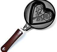 любовь розы персонажей мультфильма жареными яйцами мини без крышки сковороде