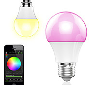 4.5w smart app controle draadloze bluetooth led rgb lamp / licht 1pcs