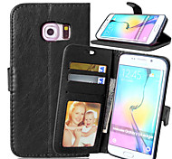 cheap -PU Leather Card Holder Wallet Stand Flip Cover With Photo Frame Case For Samsung Galaxy S3/S4/S5/S6/S6 Edge/S6 Edge +