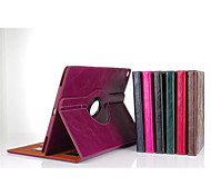 Fashion boutique PU Leather 360⁰ Cases Auto Sleep/Wake Up Card holder Cases For iPad Mini 4(Assorted Color)