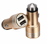 RenEPai® 2-in-1 12V/24V DC Car Cigar  Lighter Double Power Adapter Socket Splitter