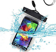 cheap -Case For Universal Waterproof with Windows Pouch Bag Solid Color Soft PC for S6 edge S6