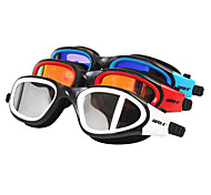 SUPER-K Swimming Goggles Anti-Fog Waterproof Adjustable Size Silica Gel PC Red Black Blue Others