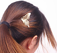 cheap -Women Fashion Metal Butterfly Pattern Comb Hairpin Hair Accessories Jewelry 1pc