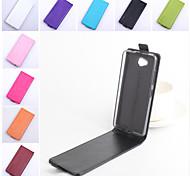 Для Кейс для Nokia Флип Кейс для Чехол Кейс для Один цвет Твердый Искусственная кожа Nokia Nokia Lumia 950 / Other
