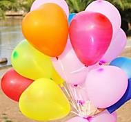 Недорогие -10шт в форме сердца шар свадьба на воздушном шаре Печать фотографий моды жениться шар любви шар (ramdon цвет)