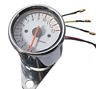 Universal Motorcycle Mechanica 13000RPM Tachometer Gauge