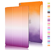 cheap -Case For iPad Air 2 Origami Full Body Cases Color Gradient PU Leather for iPad Air 2