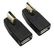 cheap -CY® Female USB 2.0 to Male USB Adapter for AUX(2 pcs)