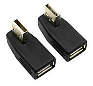 Недорогие -cy® женщина USB 2.0 для мужской USB-адаптер для AUX (2 шт)