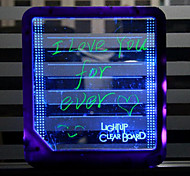 cheap -Light tablet LED message board fluorescence tablet fluorescence message board